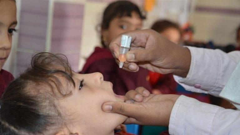 شلل الأطفال في مصر
