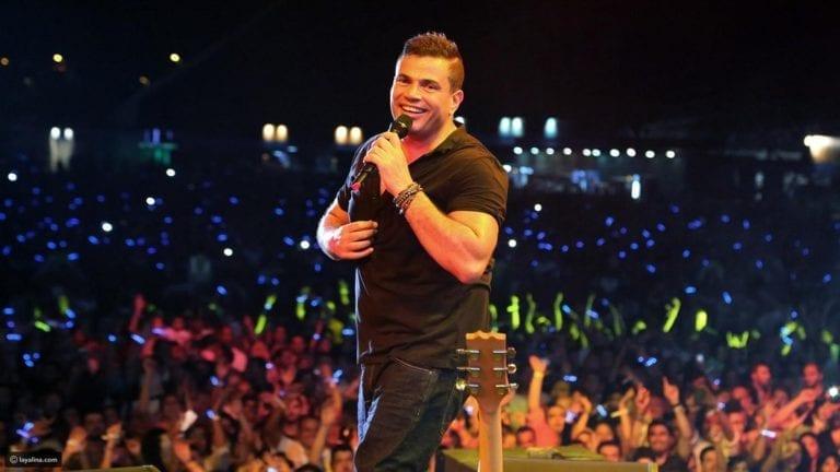 """بـ14 أغنية جديدة.. عمرو دياب يطرح ألبوم """"سهران"""""""