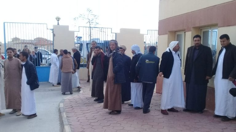 تفاصيل حالة المصريين المحتجزين بالحجر الصحي