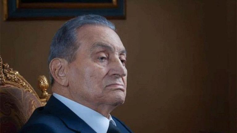 جنازة عسكرية لحسني مبارك