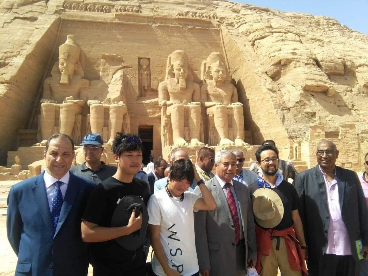 تعامد الشمس بمعبد أبو سمبل