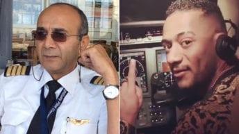 أزمة الطيار الموقوف مع محمد رمضان