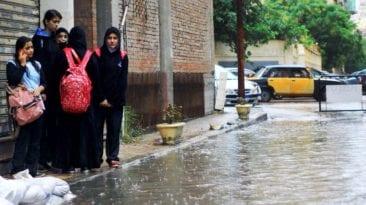 """""""نوة الشمس الصغرى"""" تغرق شوارع الإسكندرية: تستمر 3 أيام"""