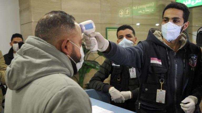 إصابة بفيروس كورونا في مصر