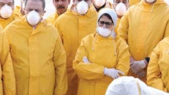وزيرة الصحة تخشى على مصر من فيروس يصيب القيم والأخلاق