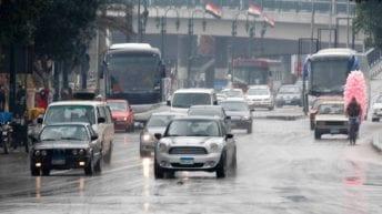 تعرف على حالة الطقس ليومين مقبلين: أمطار ورياح وأتربة