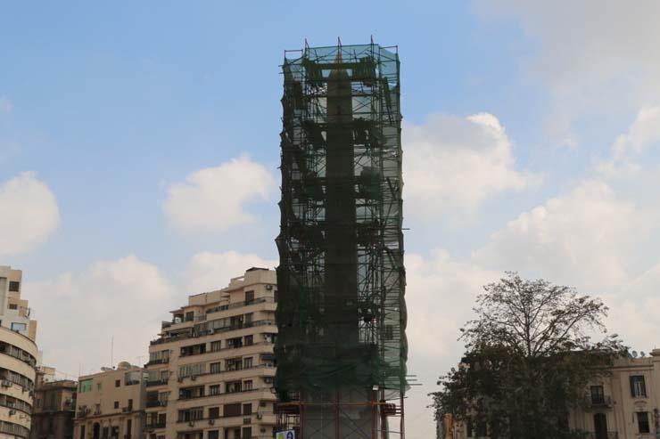 إنارة ميدان التحرير