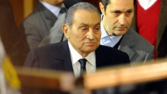 تشييع جثمان حسني مبارك
