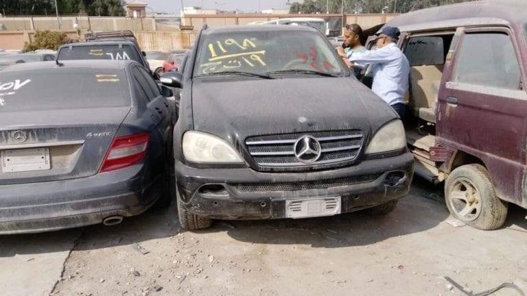 الإعلان عن مزاد علني لبيع سيارات جمارك مطار القاهرة