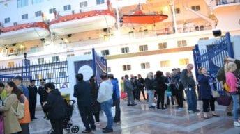 وصول سفينة سياحية إلى ميناء الإسكندرية