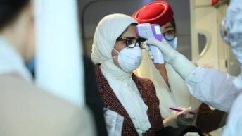 وزيرة الصحة تخضع لإجراءات فحص فيروس كورونا في الصين