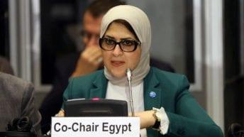 وزيرة الصحة تنفي وجود إصابات بفيروس كورونا في مصر